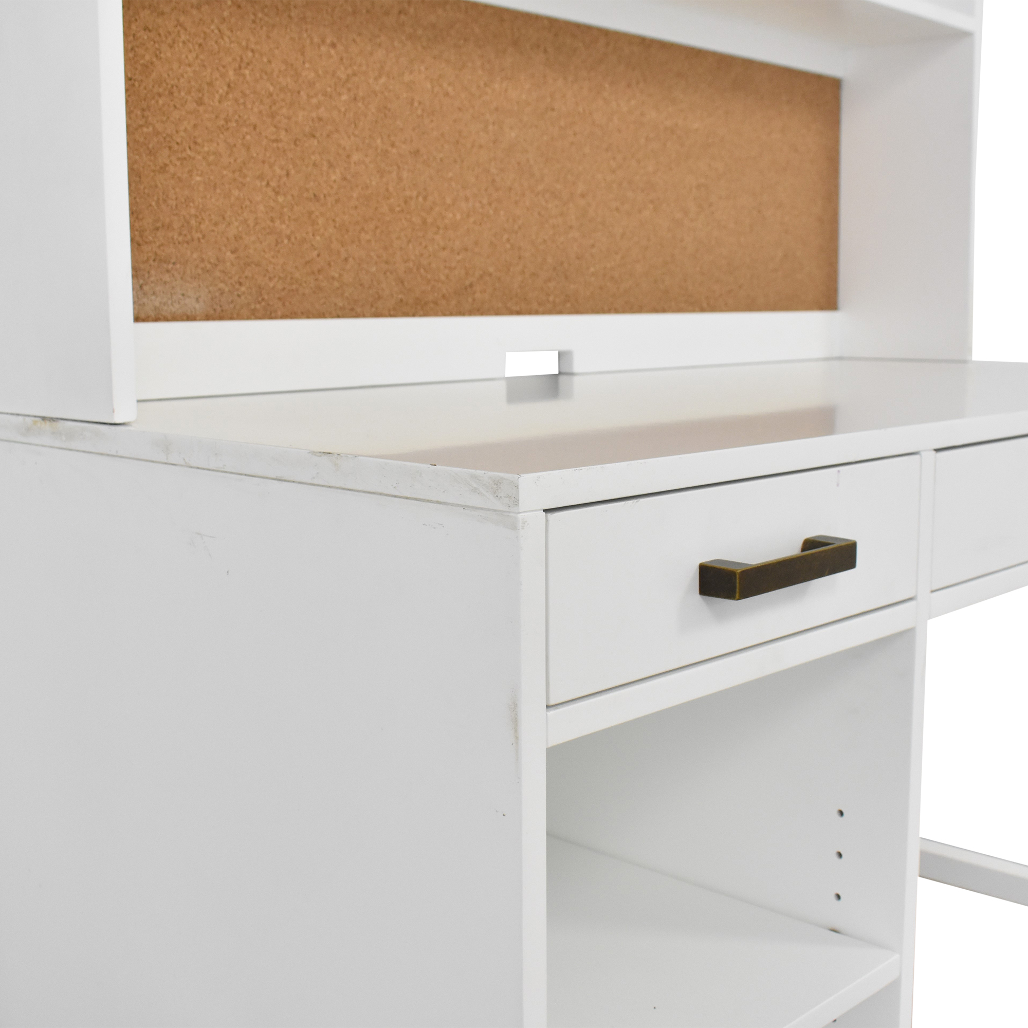 buy Land of Nod for Crate & Kids Parke Desk and Hutch Land of Nod Tables