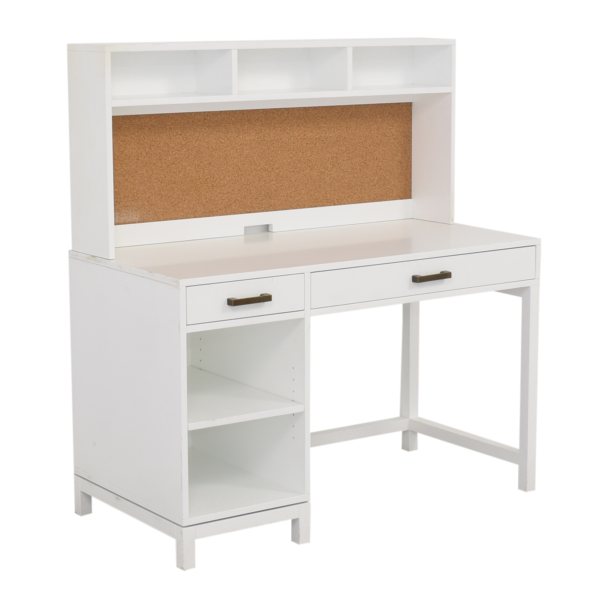 Land of Nod Land of Nod for Crate & Kids Parke Desk and Hutch Home Office Desks