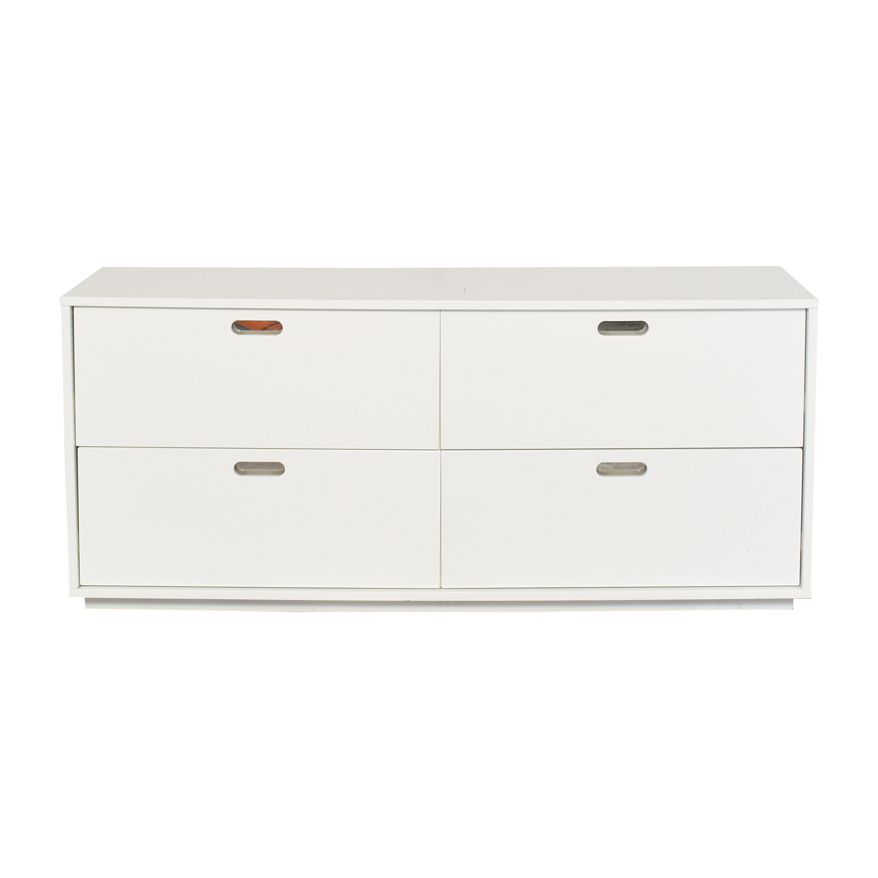 shop CB2 Gloss Low Dresser CB2