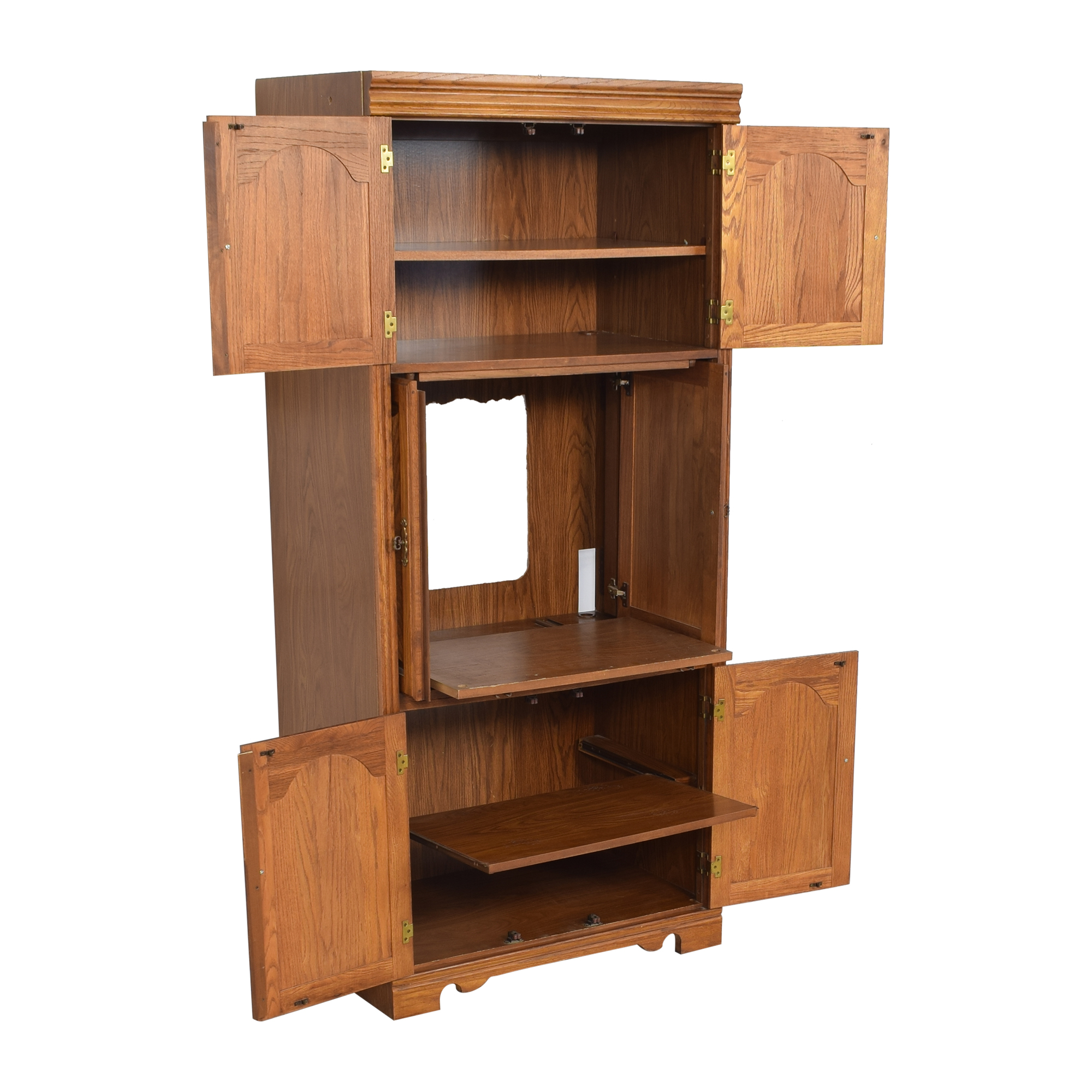 buy Broyhill Illuminated Media Cabinet Broyhill Furniture Storage