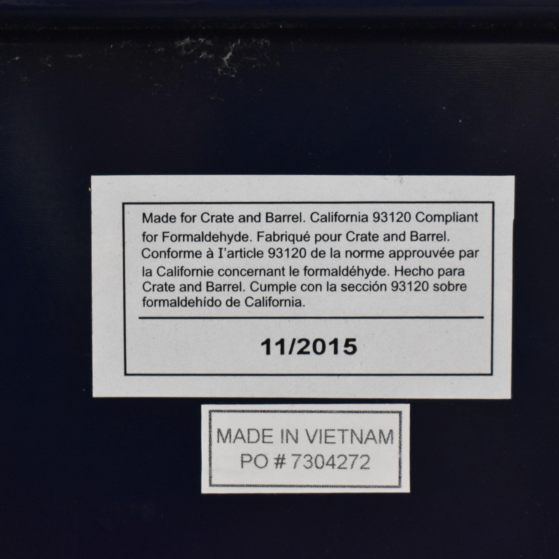 CB2 CB2 Fuel Navy Credenza for sale