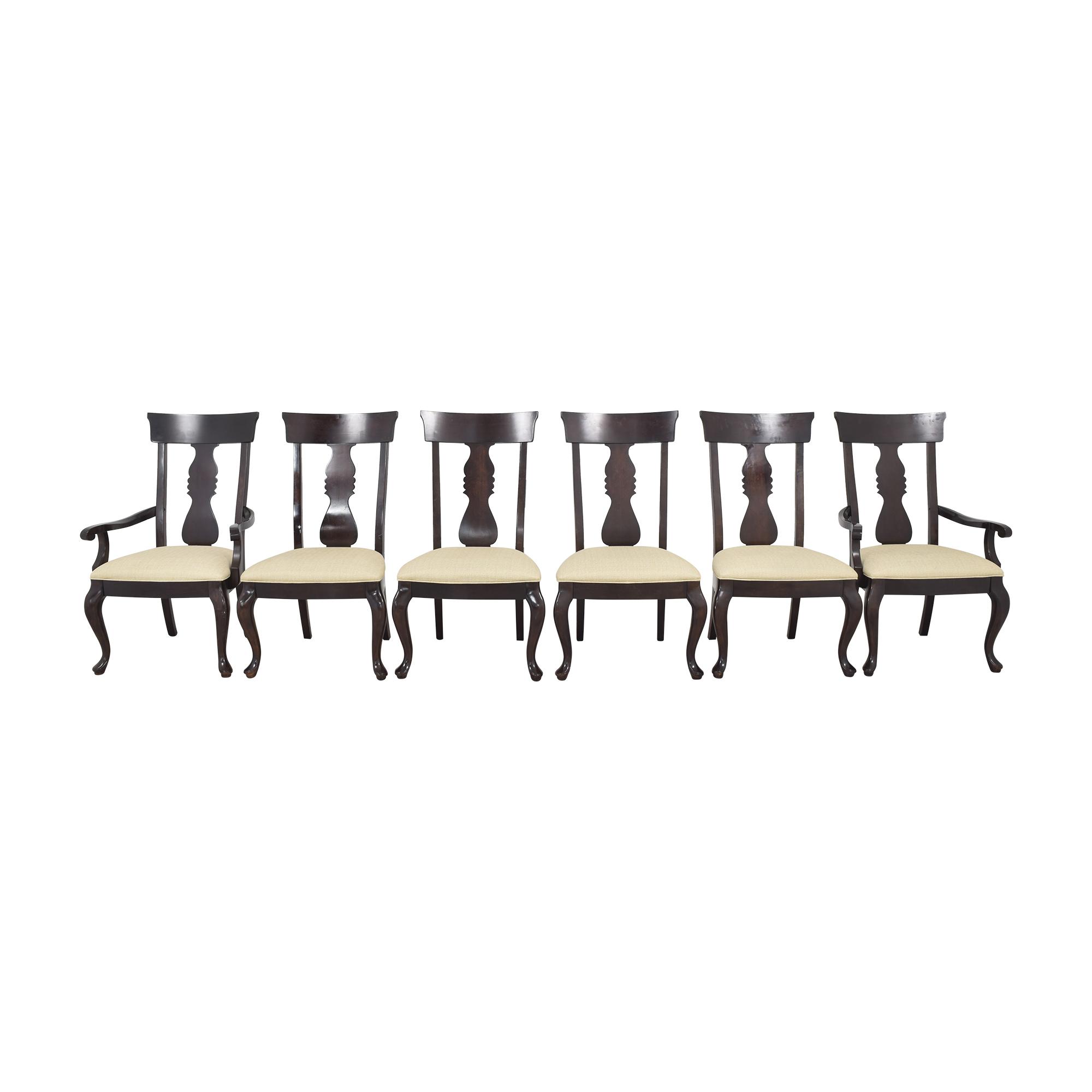 Thomasville Thomasville Fiddleback Dining Chairs nj