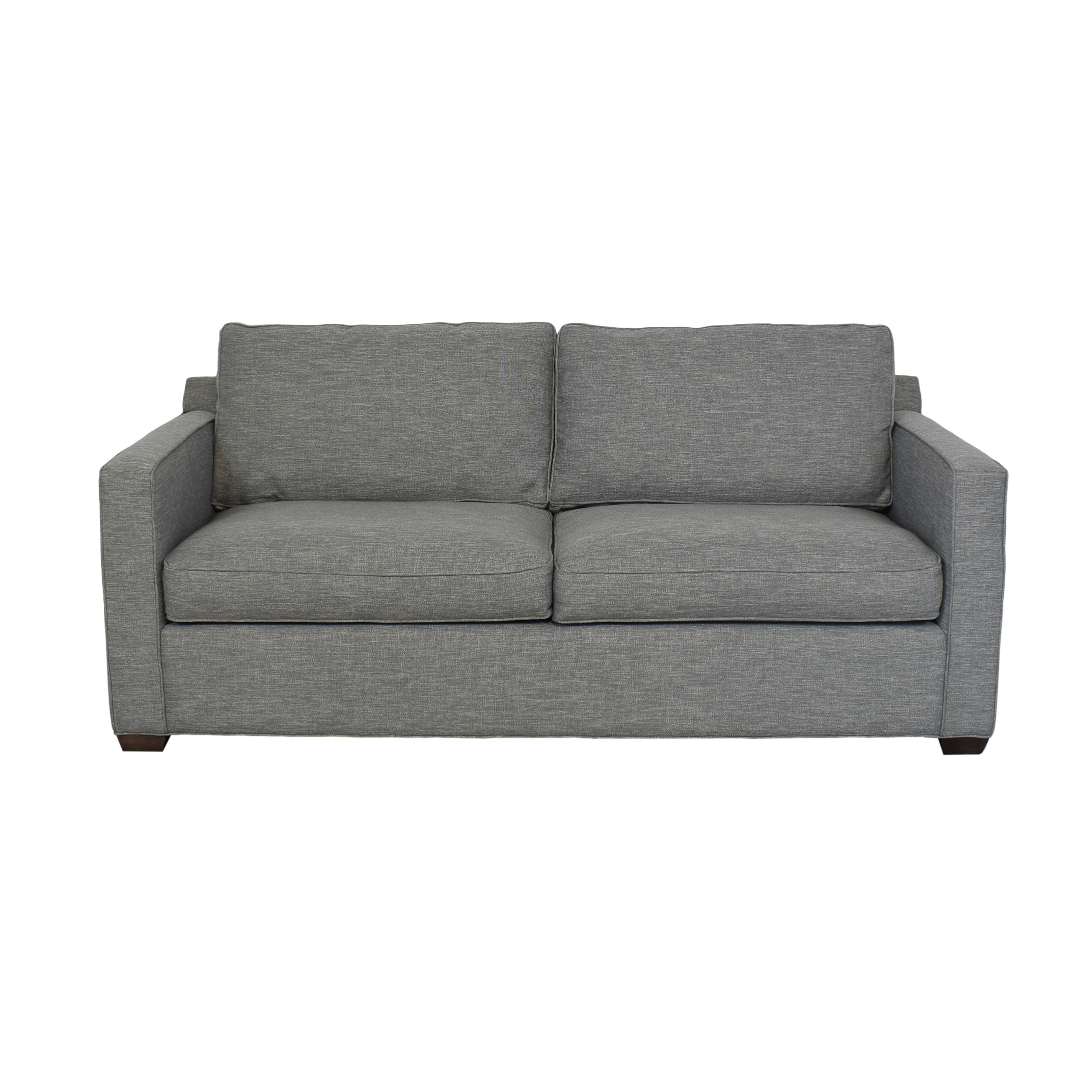 Crate & Barrel Crate & Barrel Davis Sofa gray