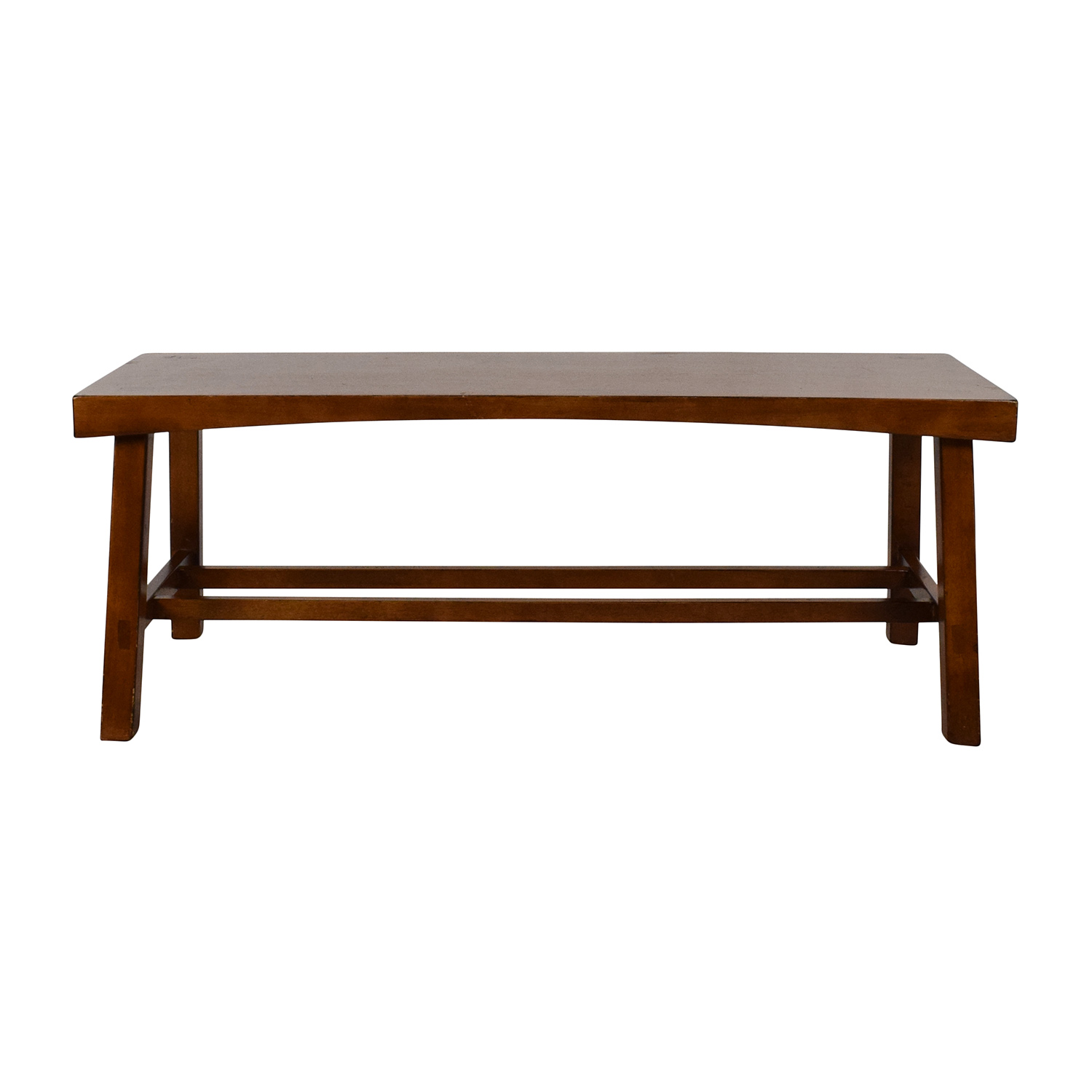 buy Crate & Barrel Wooden Coffee Table Crate and Barrel Tables