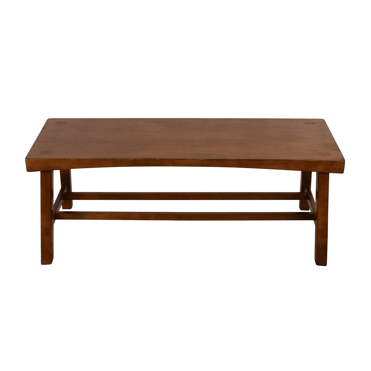 buy Crate & Barrel Wooden Coffee Table Crate and Barrel Coffee Tables