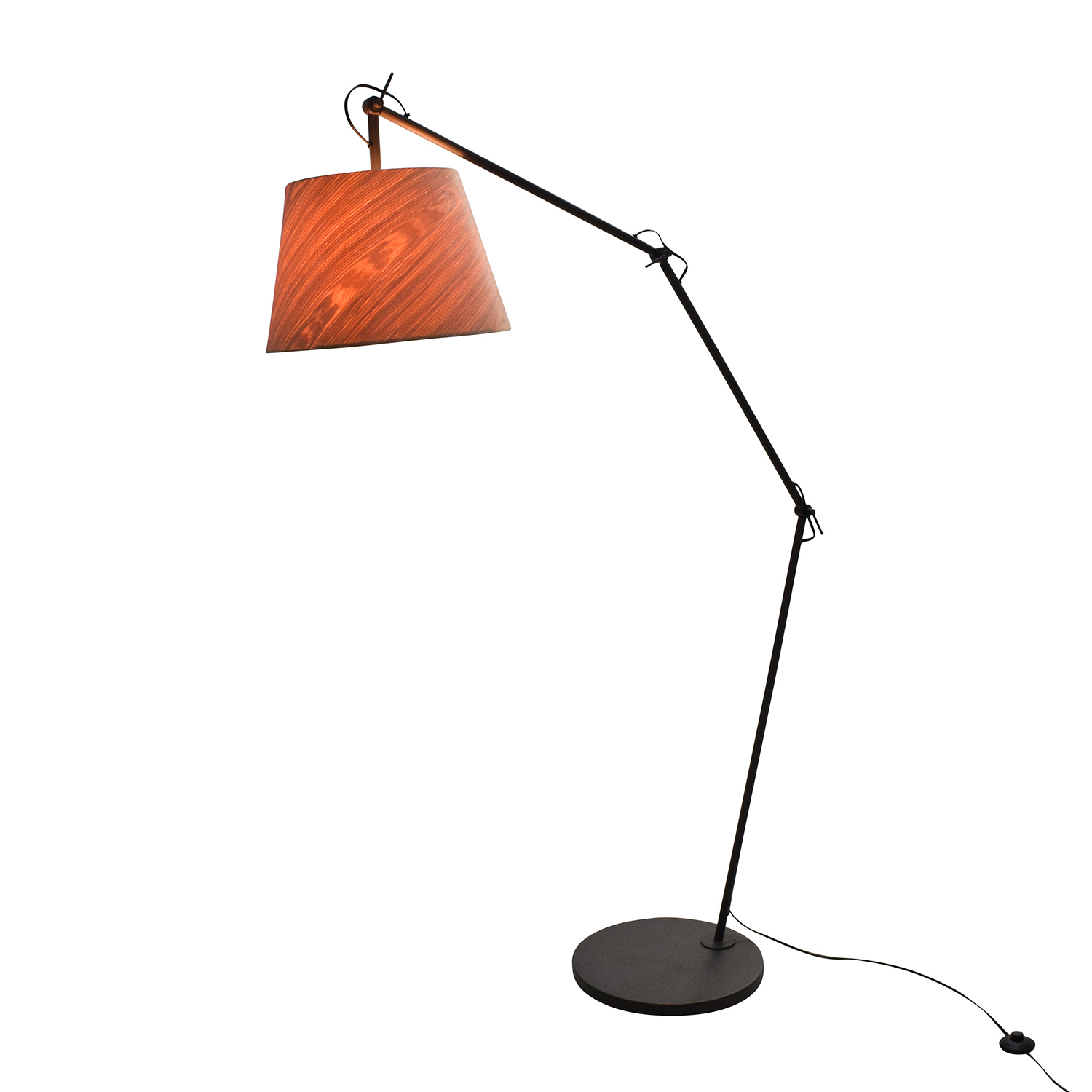 shop CB2 Polygon Floor Lamp CB2 Lamps