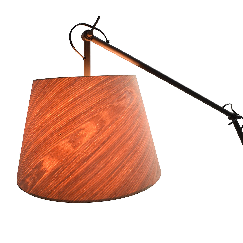 CB2 CB2 Polygon Floor Lamp on sale