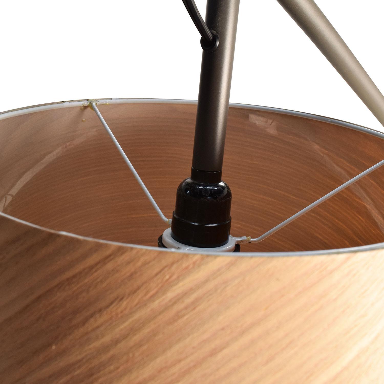 66 off cb2 cb2 polygon floor lamp decor for Cb2 disk floor lamp