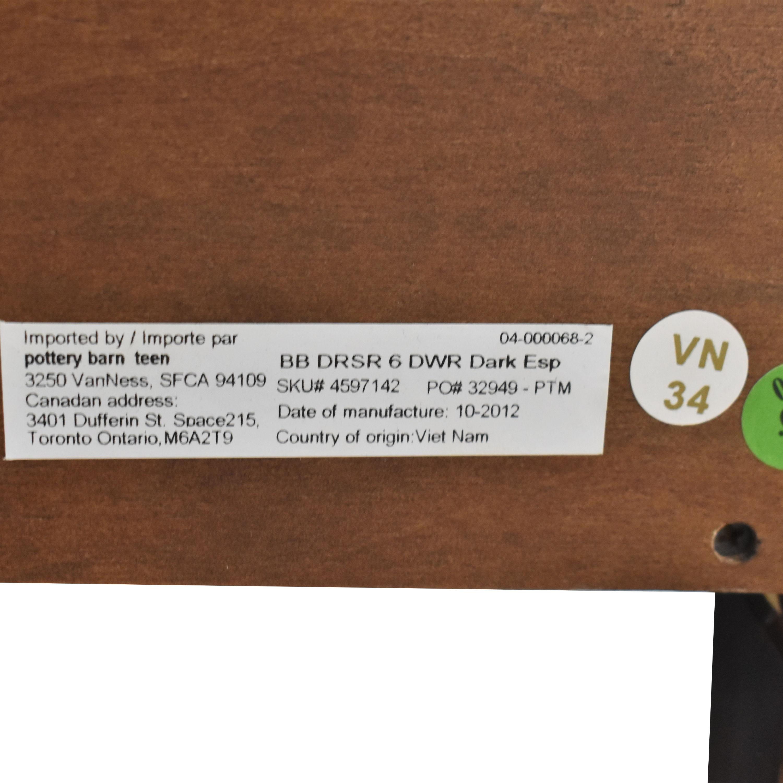 Pottery Barn 6-Drawer Beadboard Extra-Wide Dresser / Dressers