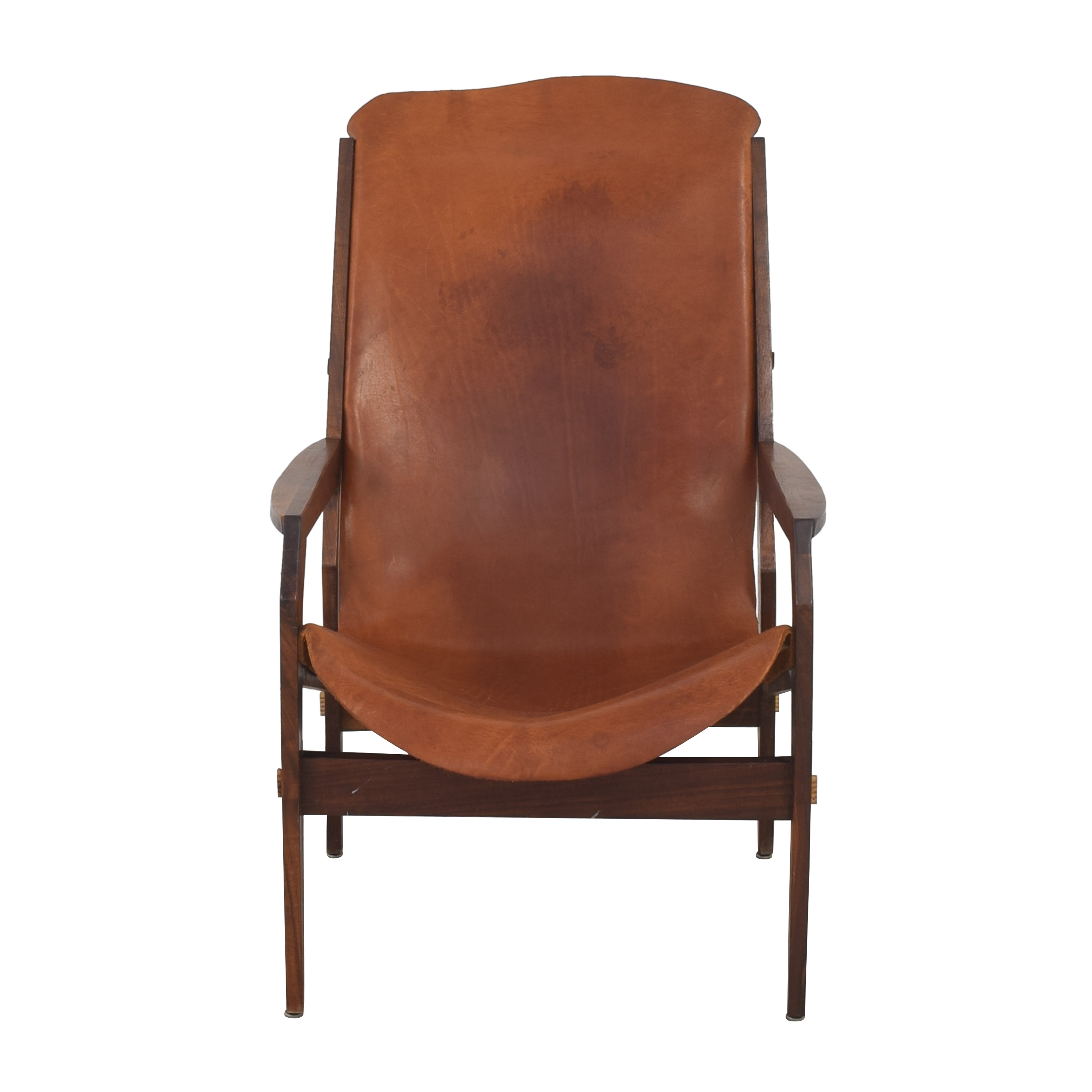 buy Etsy Etsy Stratis Sling Leather Lounge Chair online