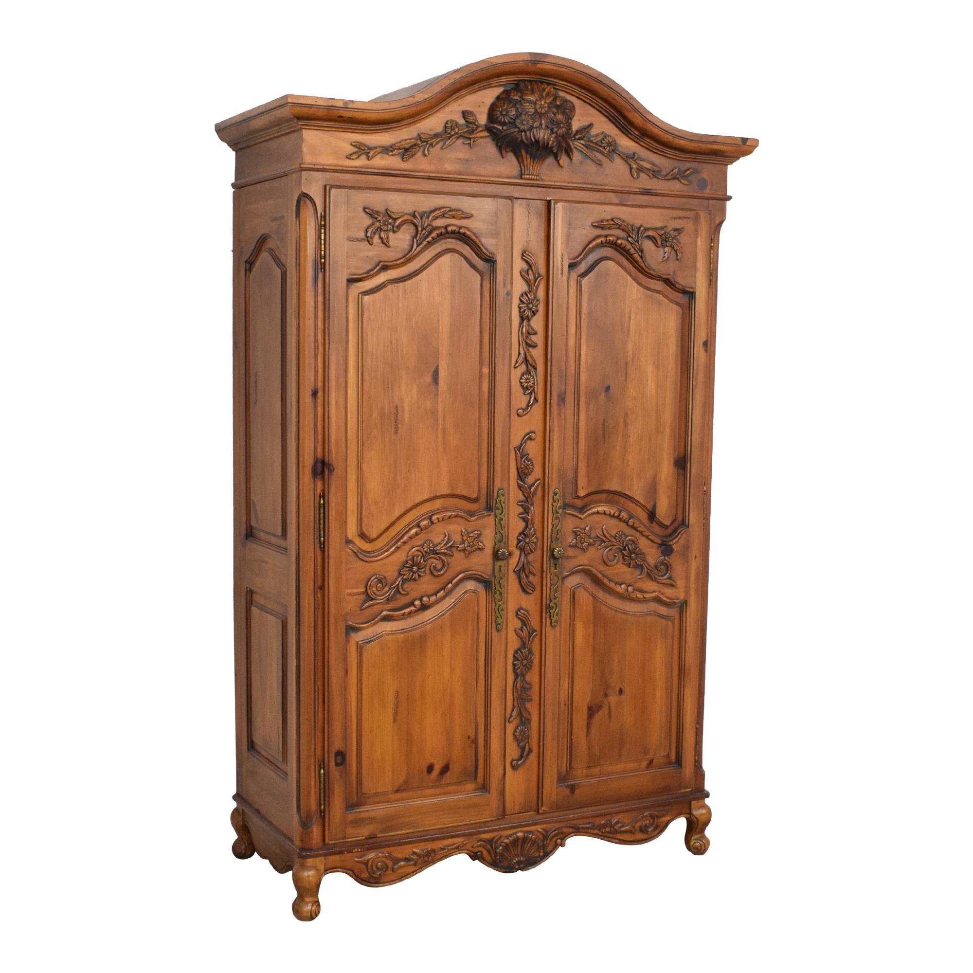 buy Ethan Allen Ethan Allen Media Cabinet Armoire online