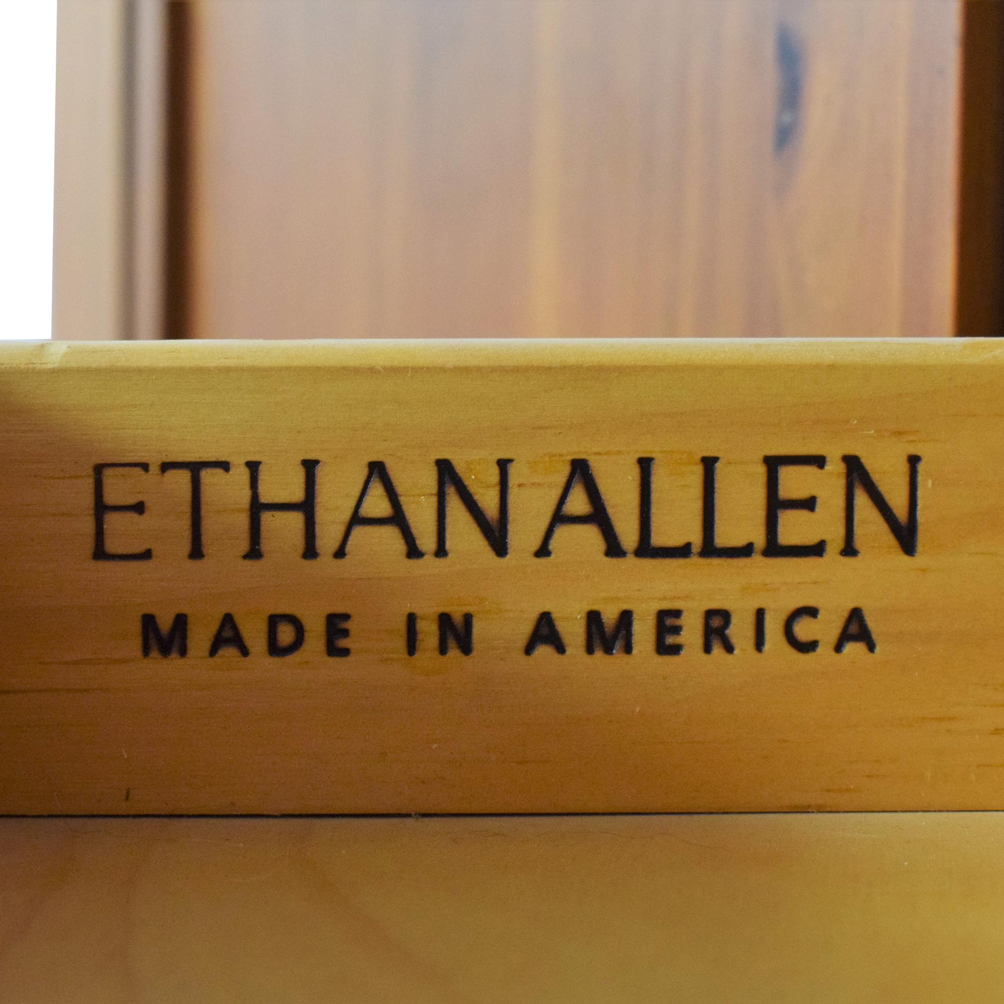 shop Ethan Allen Media Cabinet Armoire Ethan Allen Wardrobes & Armoires