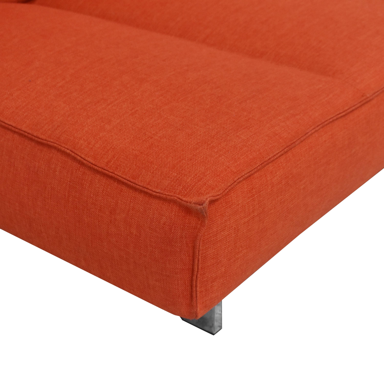 shop CB2 Flex Sleeper Sofa CB2 Sofas