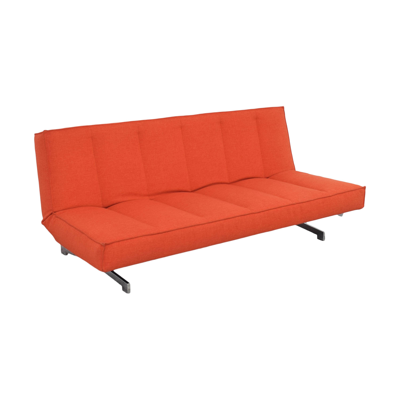 CB2 CB2 Flex Sleeper Sofa red