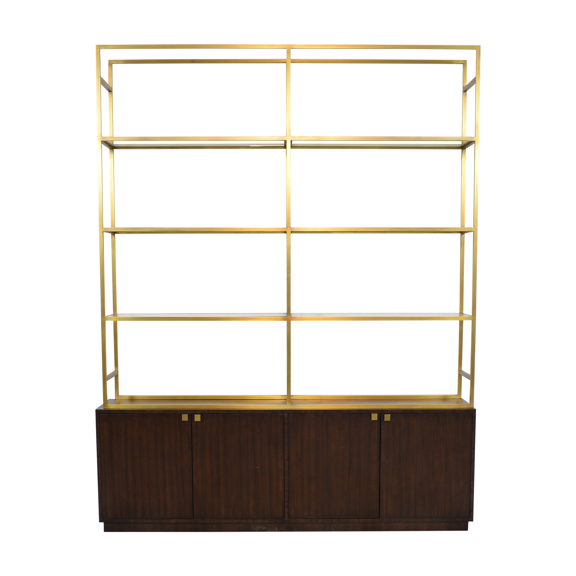 buy Restoration Hardware Sideboard with Etagere Style Bookcase Restoration Hardware
