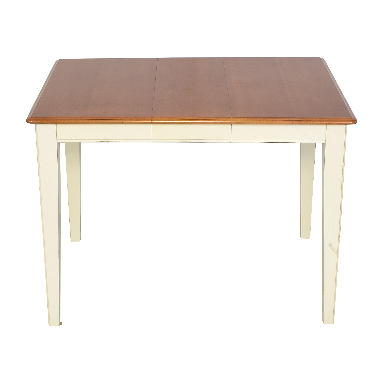 Bassett Furniture Basset Furniture Expandable Dining Table on sale