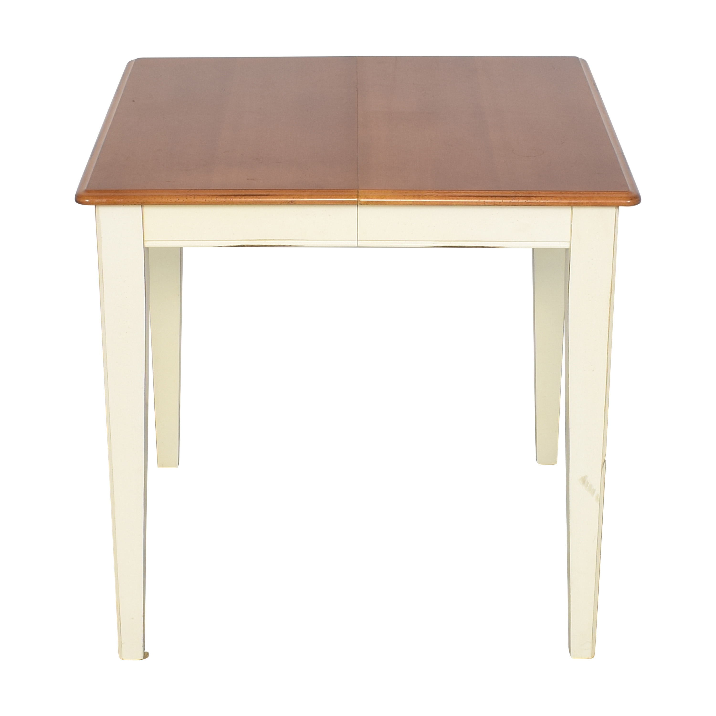 Bassett Furniture Basset Furniture Expandable Dining Table Dinner Tables