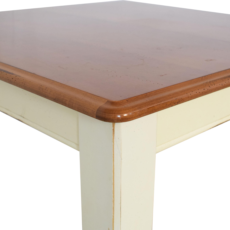 Bassett Furniture Basset Furniture Expandable Dining Table pa