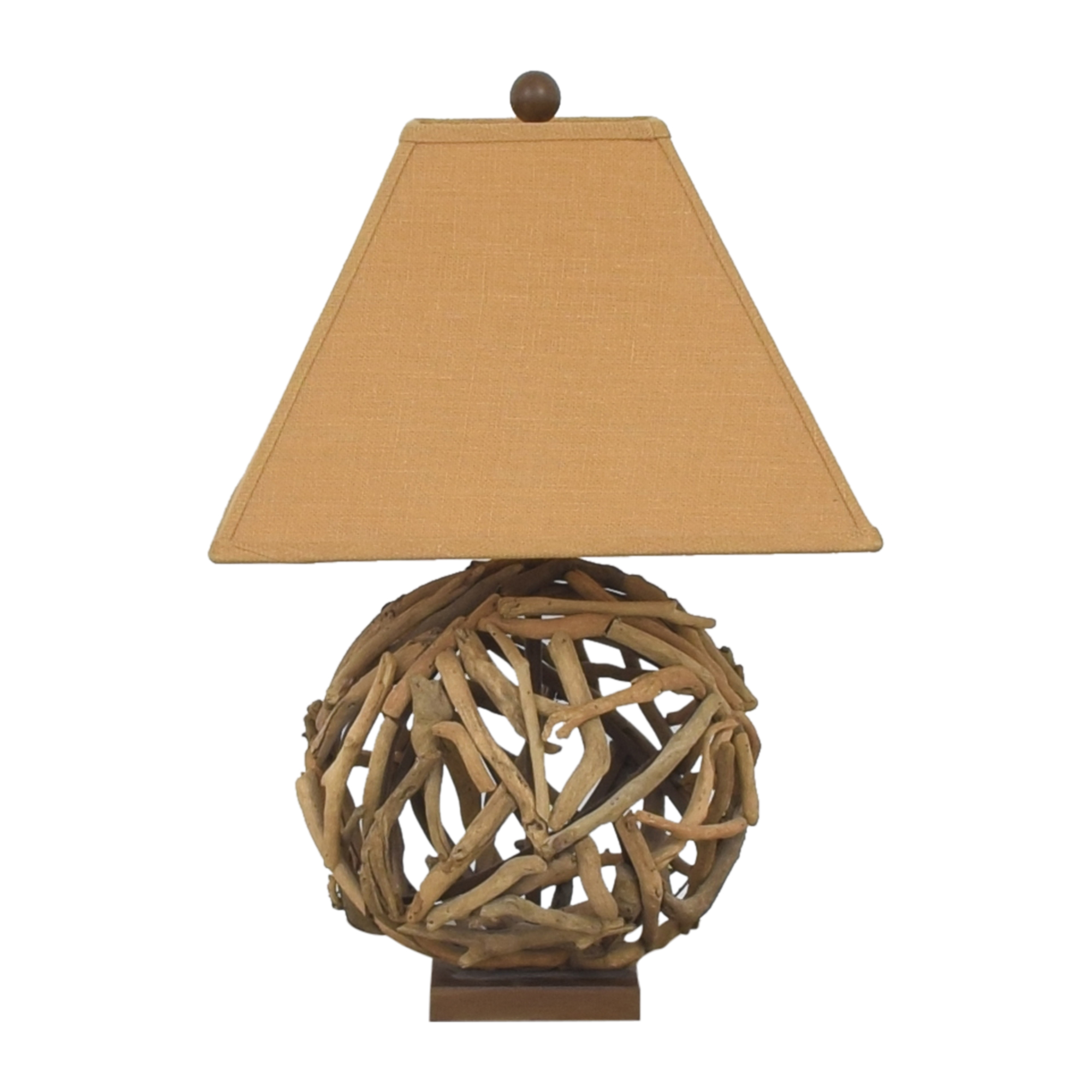 Currey and Company Currey and Company Driftwood Table Lamp used