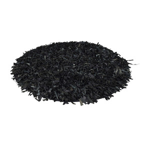 buy Rugs USA Rugs USA Black Leather Round Area Rug online