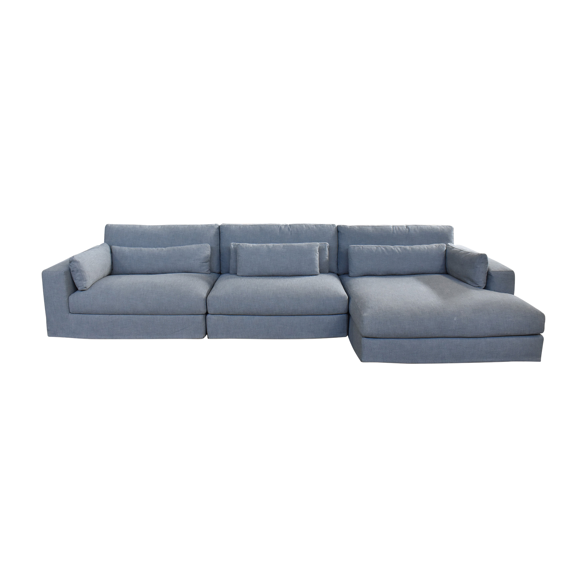 Restoration Hardware Restoration Hardware Lugano Modular Chaise Sectional Sofa for sale