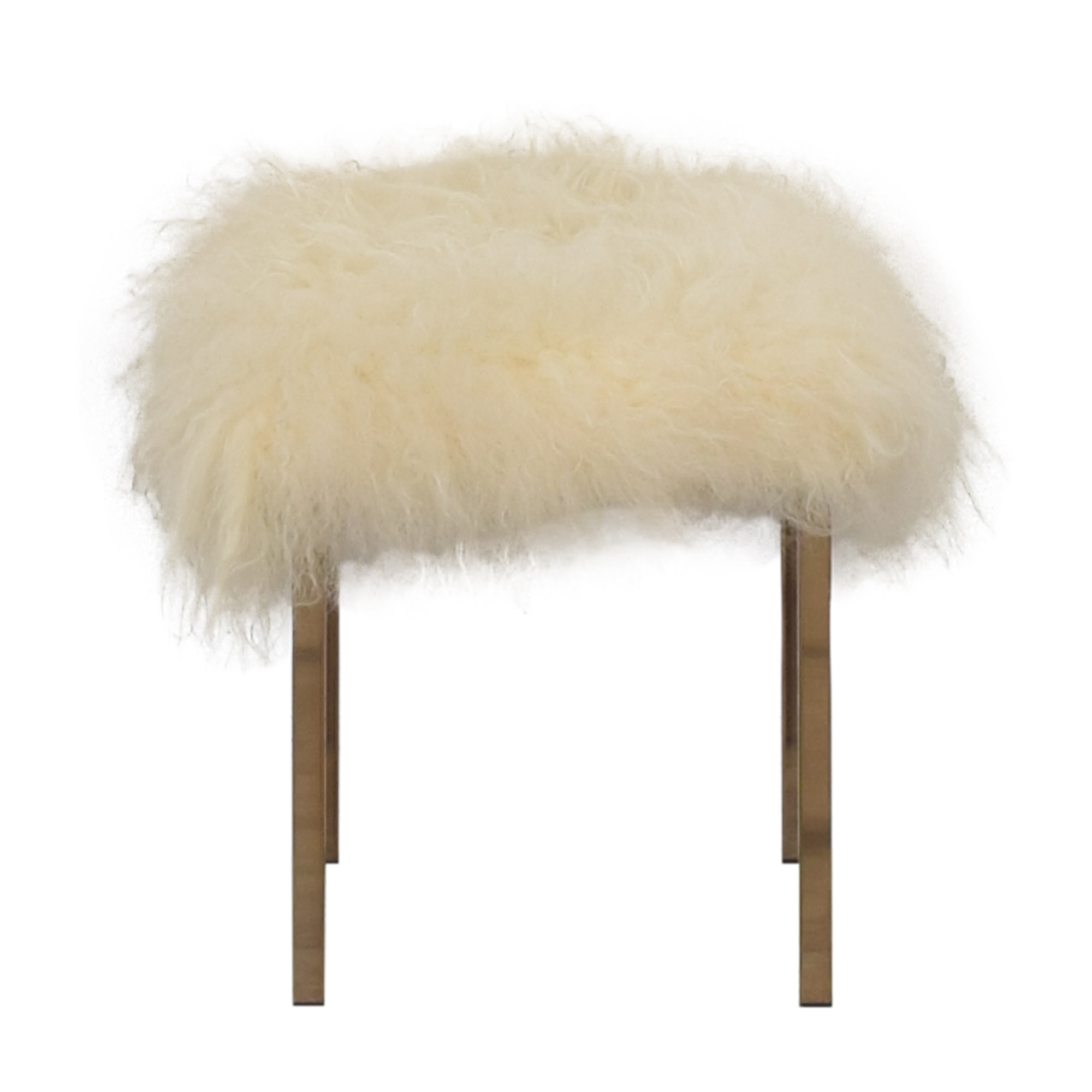 shop CB2 CB2 Sheepskin Stool online