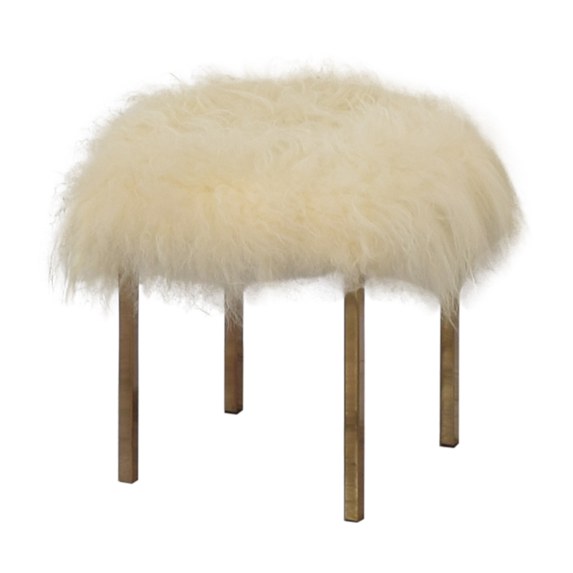 CB2 Sheepskin Stool / Chairs