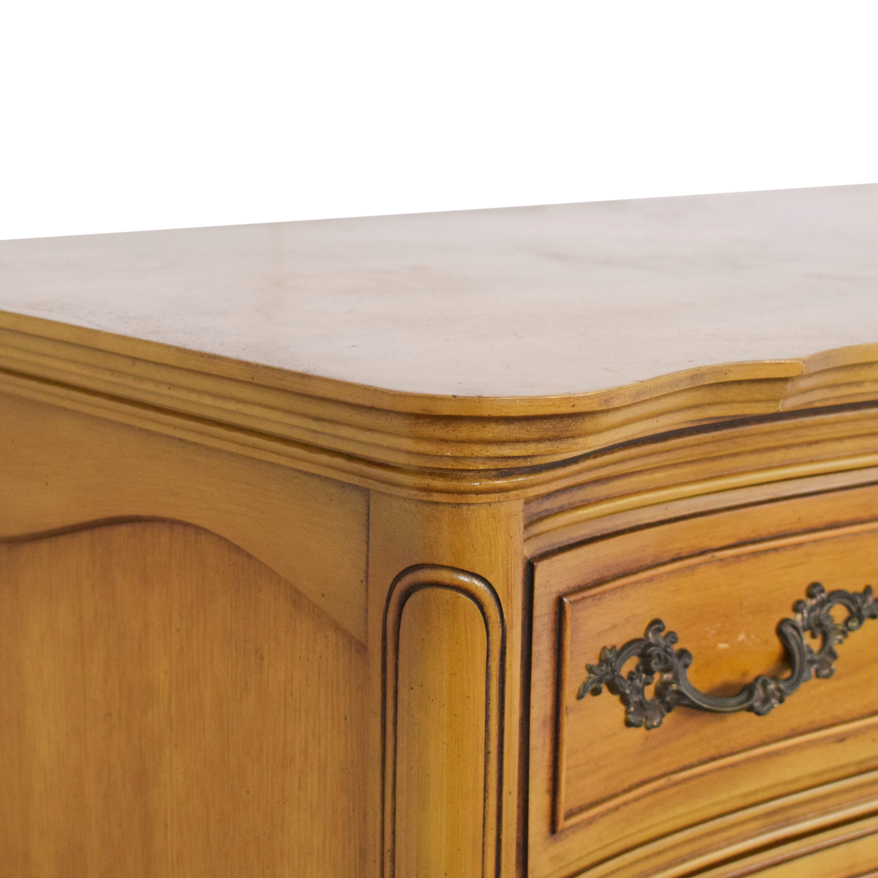 French Provincial Style Highboy Chest dimensions