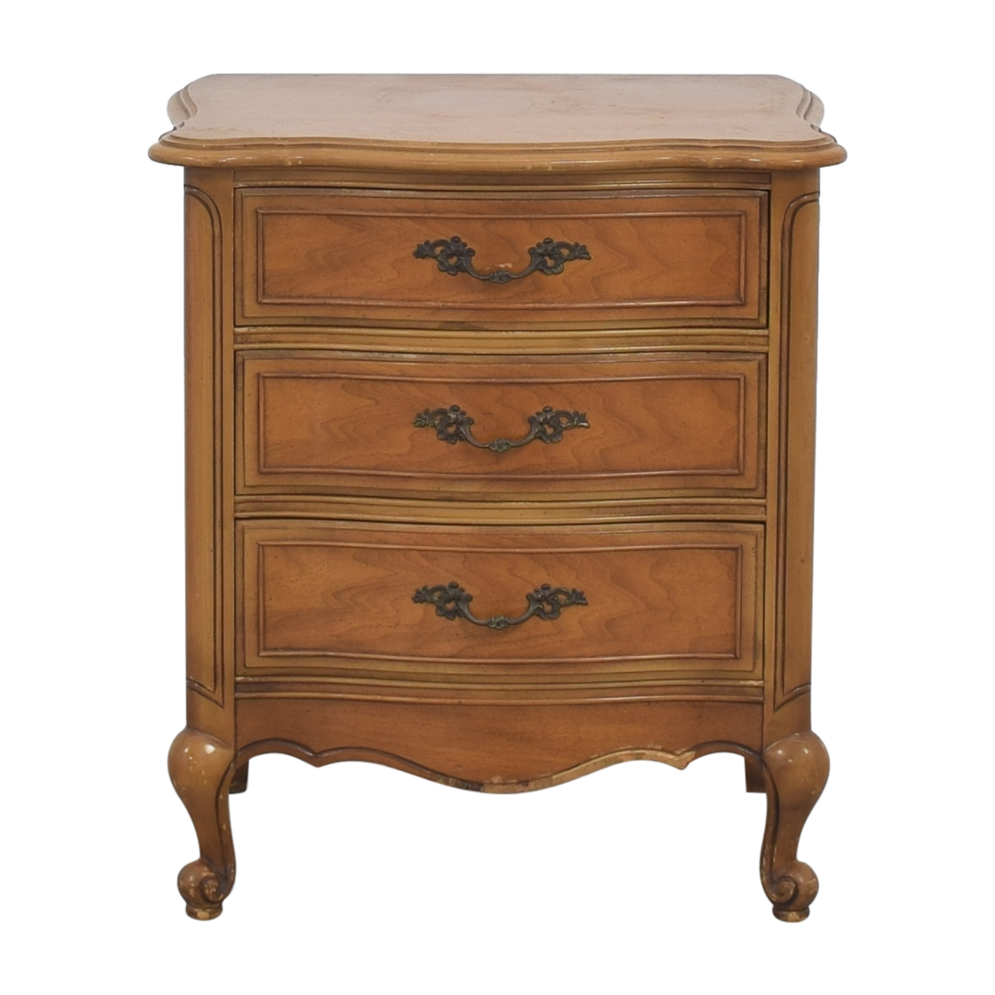 French Provincial Style Nightstand ct