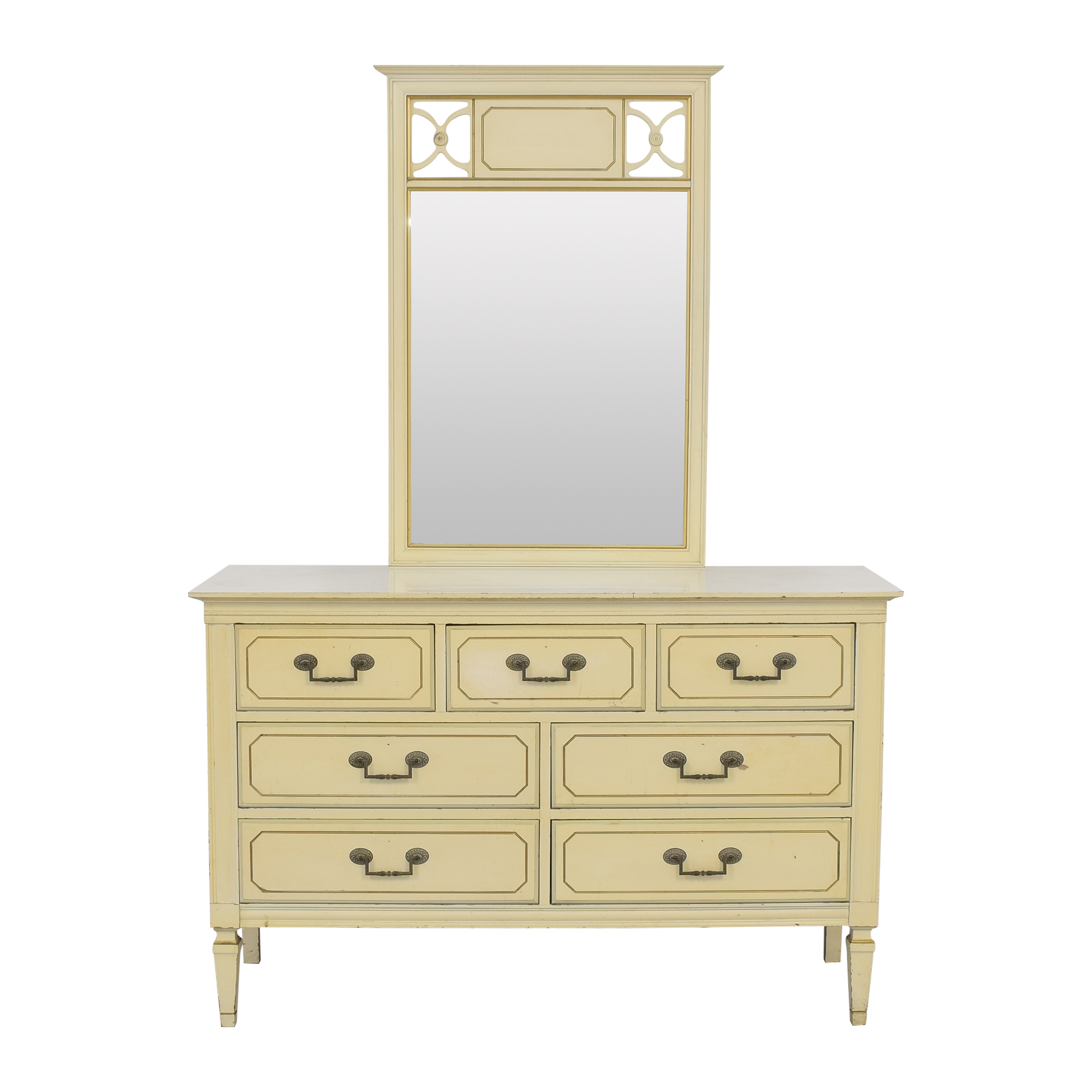 Seven Drawer Dresser with Mirror nyc