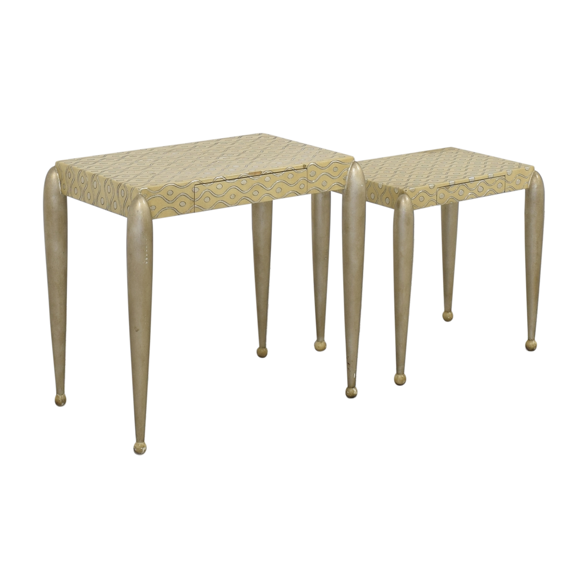 shop ABC Carpet & Home African Inspired Nesting Tables with Drawers online