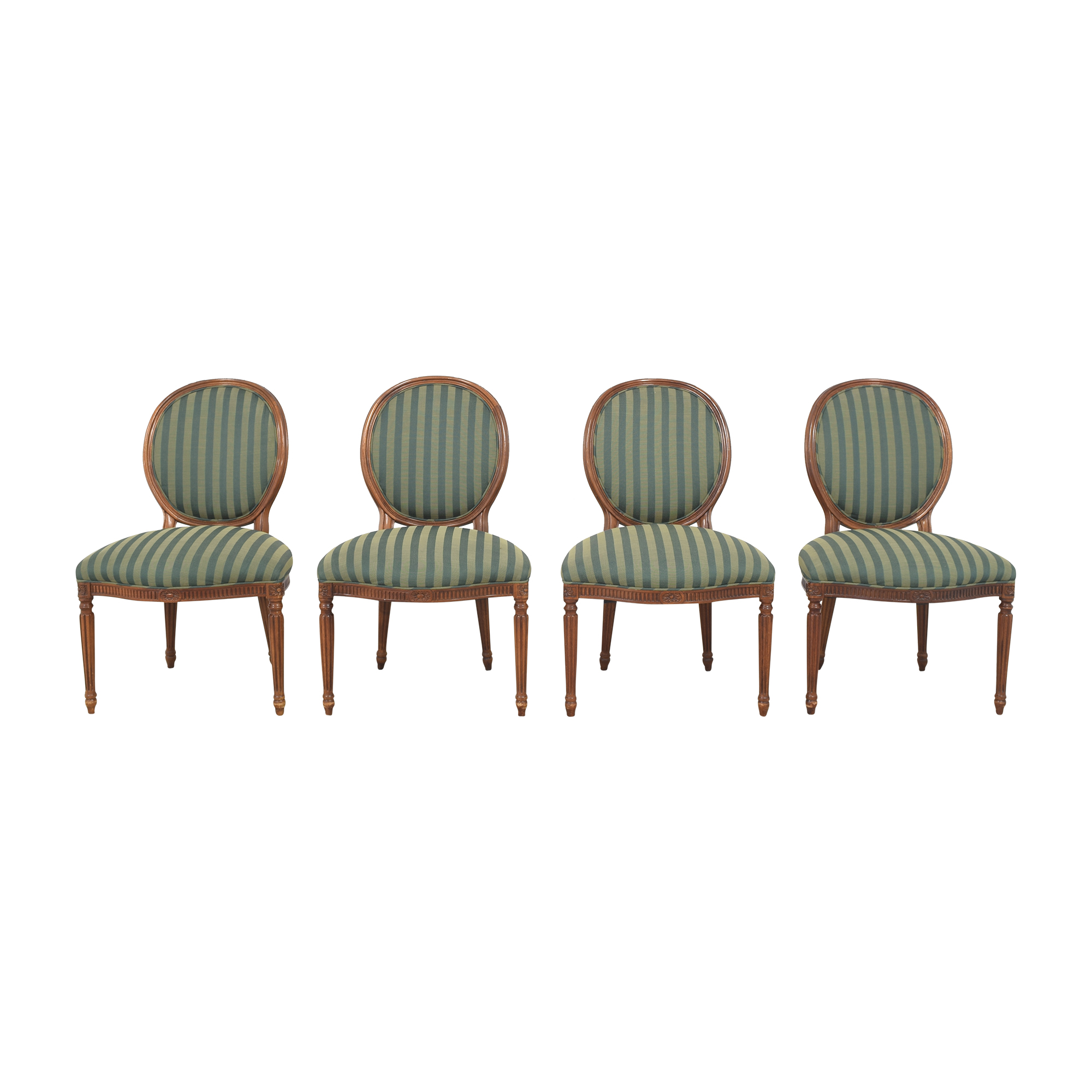 Hickory Chair Hickory Chair Medallion Back Dining Chairs ma