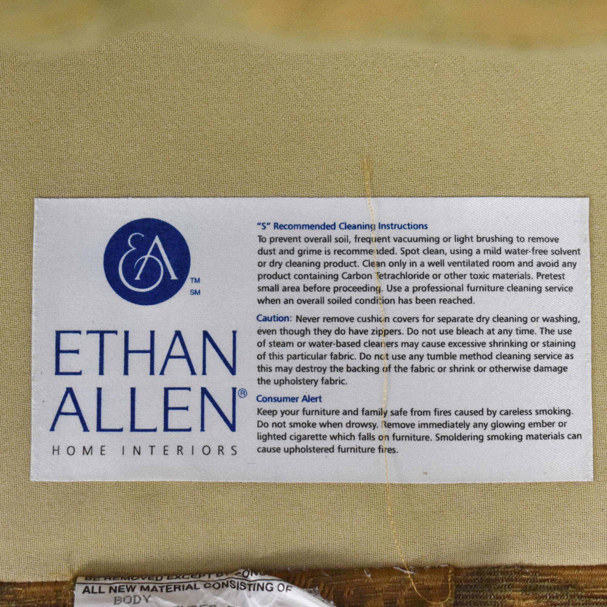 Ethan Allen Ethan Allen Evette Settee used