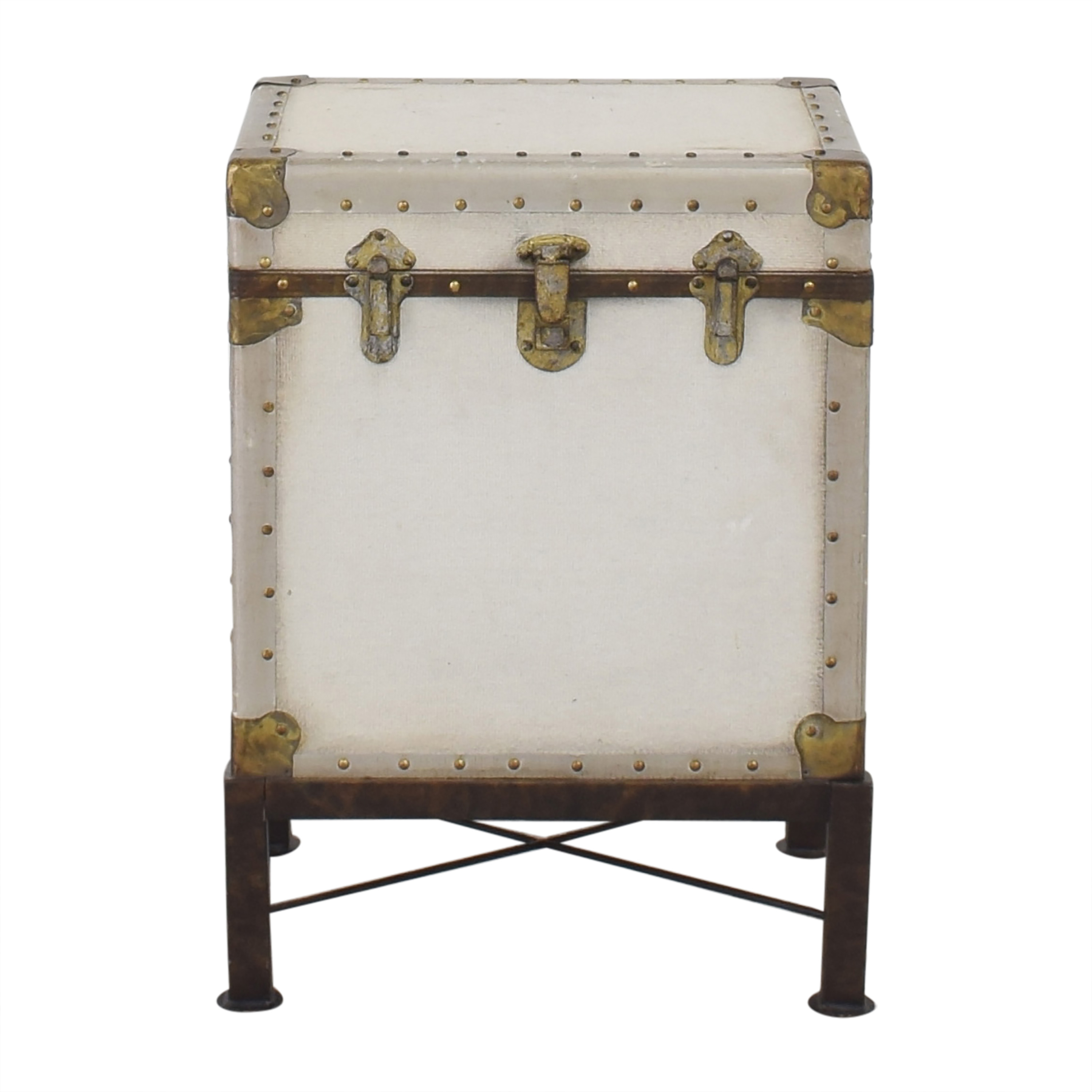 Pottery Barn Pottery Barn Ludlow Trunk End Table second hand