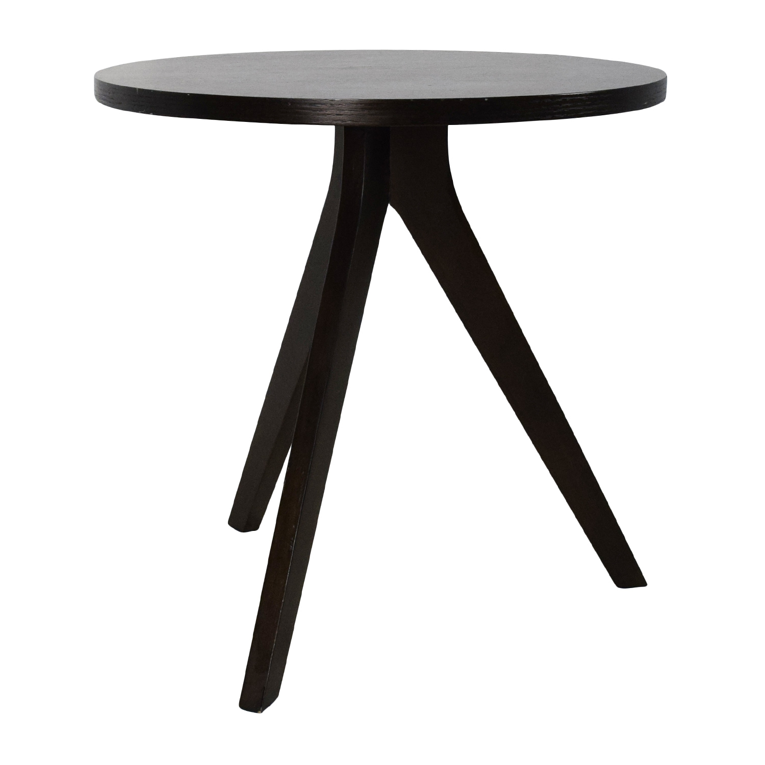 75 off west elm west elm tripod side table tables. Black Bedroom Furniture Sets. Home Design Ideas