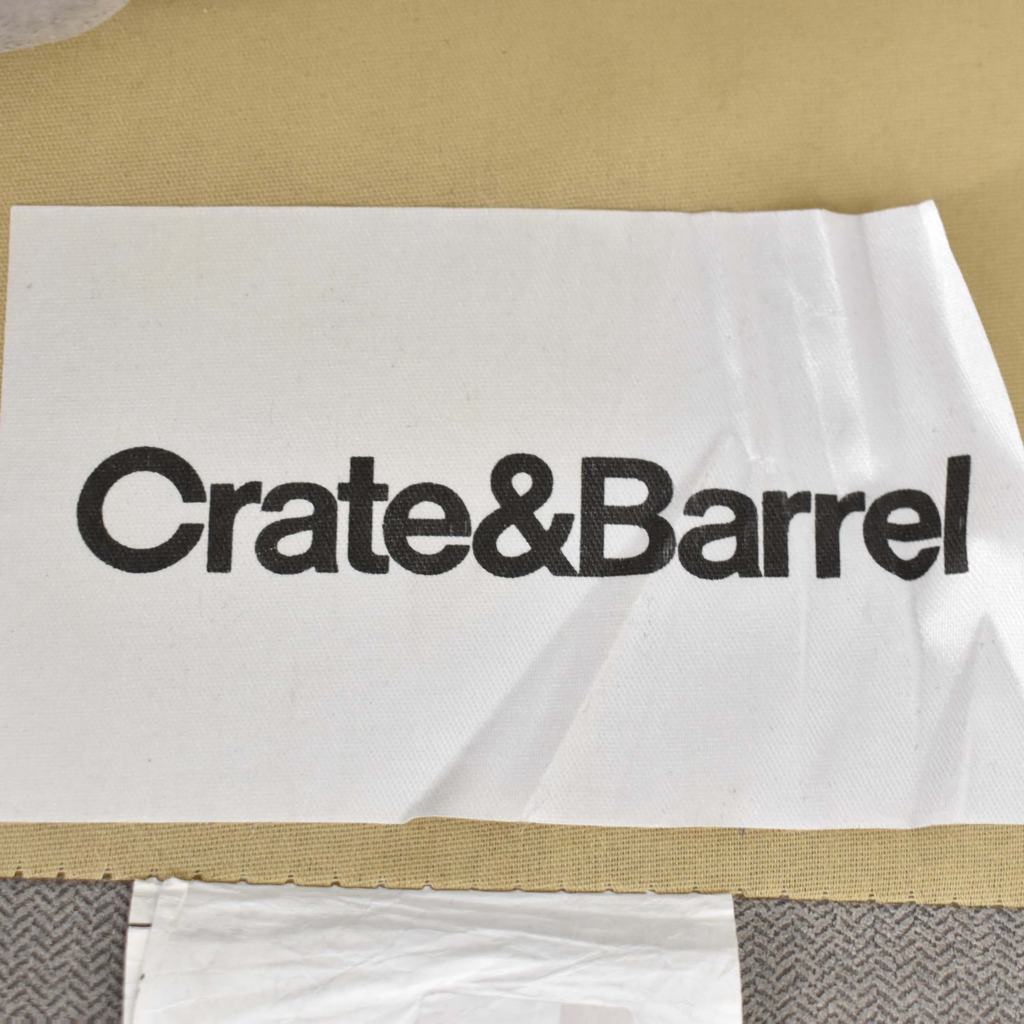 Crate & Barrel Montclair Chaise Sectional Sofa / Sofas