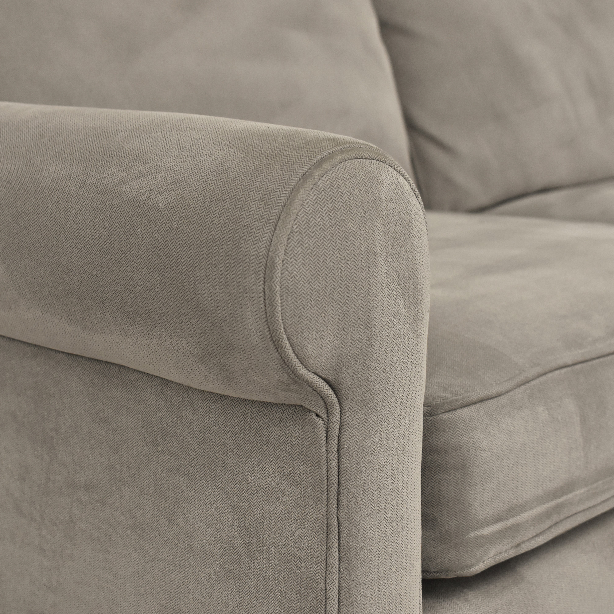 buy Crate & Barrel Montclair Chaise Sectional Sofa Crate & Barrel Sectionals