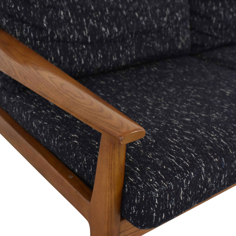 West Elm West Elm Mid-Century Show Wood Sofa on sale