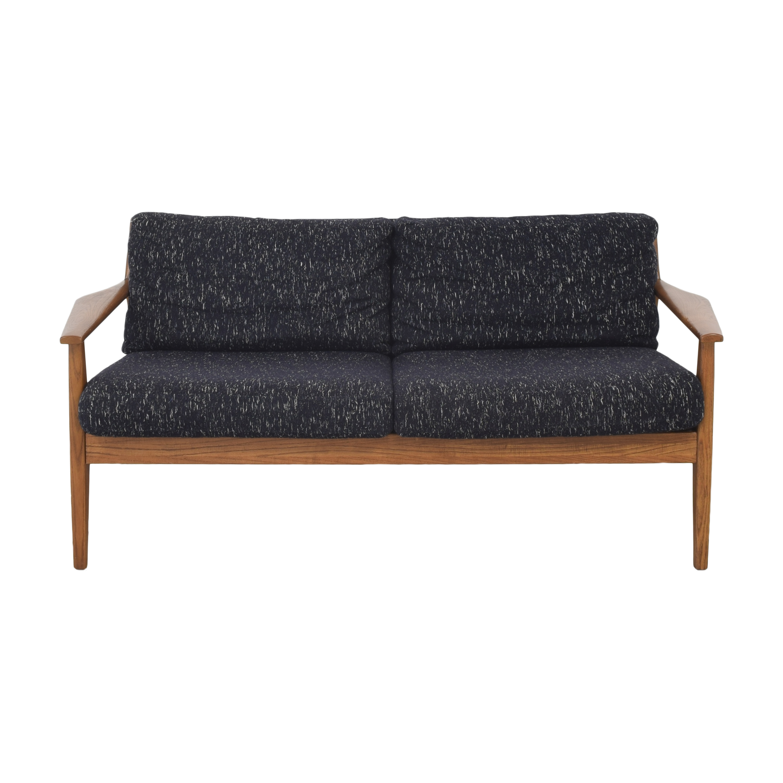 buy West Elm Mid-Century Show Wood Sofa West Elm Classic Sofas