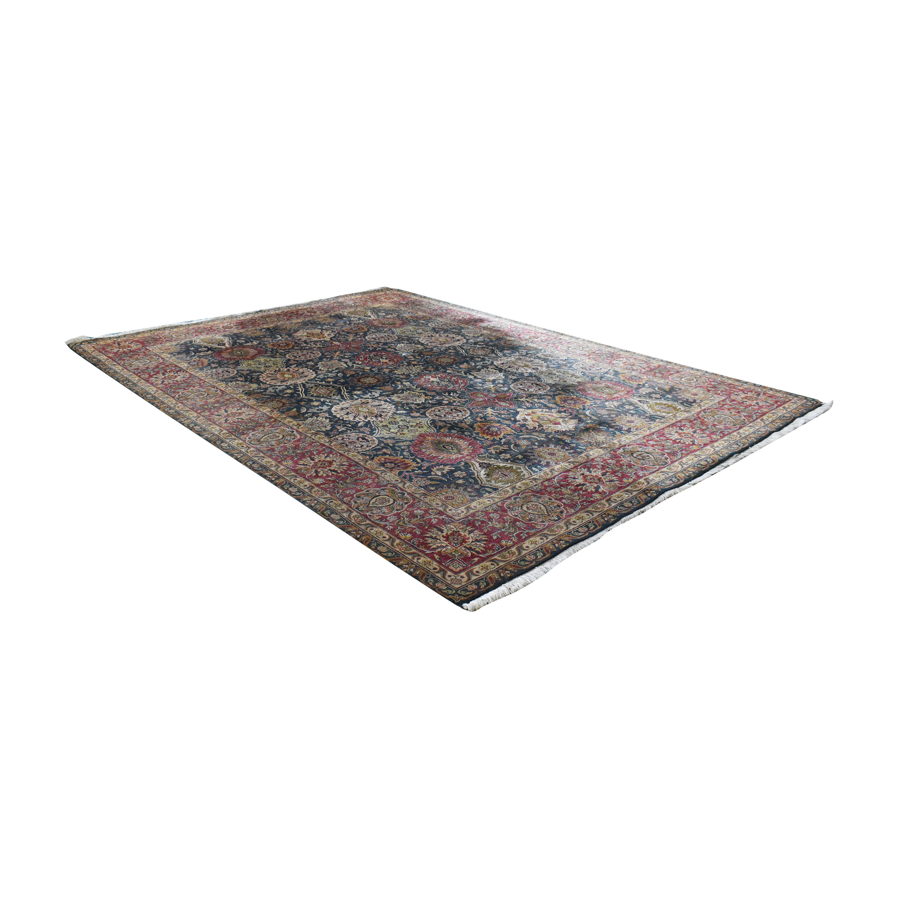 Traditional Style Persian Area Rug / Rugs