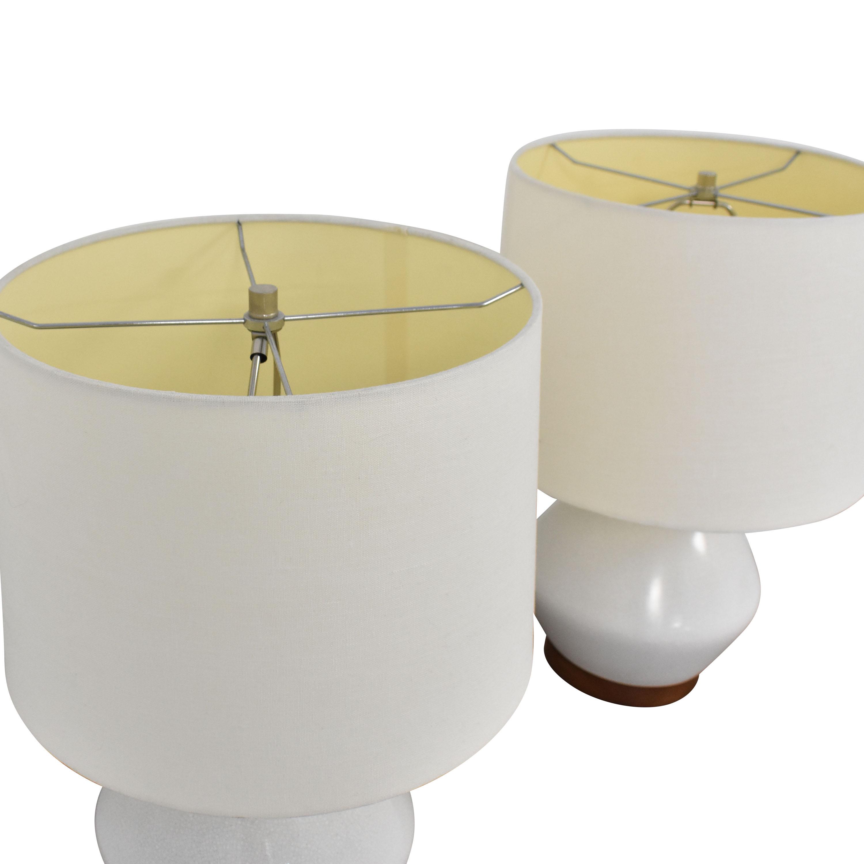West Elm Mia Table Lamps / Decor