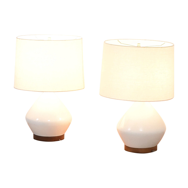 shop West Elm Mia Table Lamps West Elm