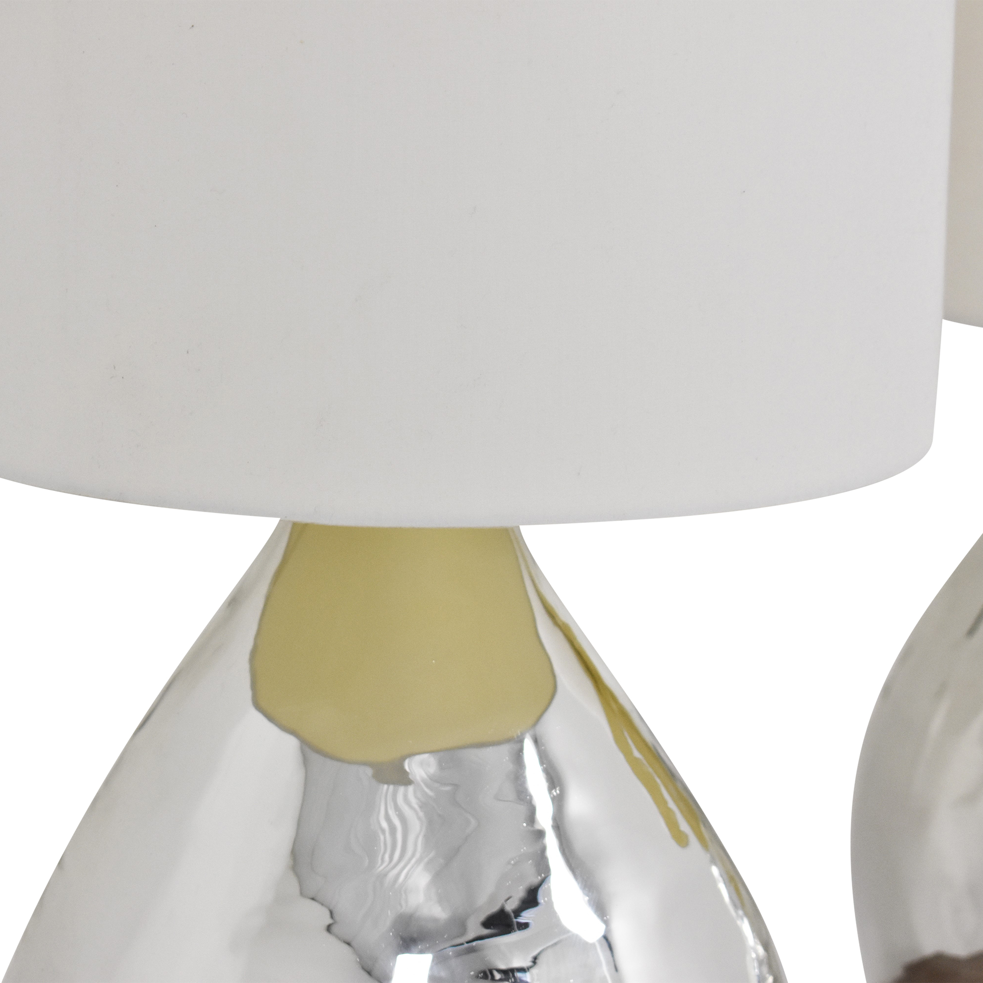 Pottery Barn Mercury Glass Style Table Lamps Pottery Barn
