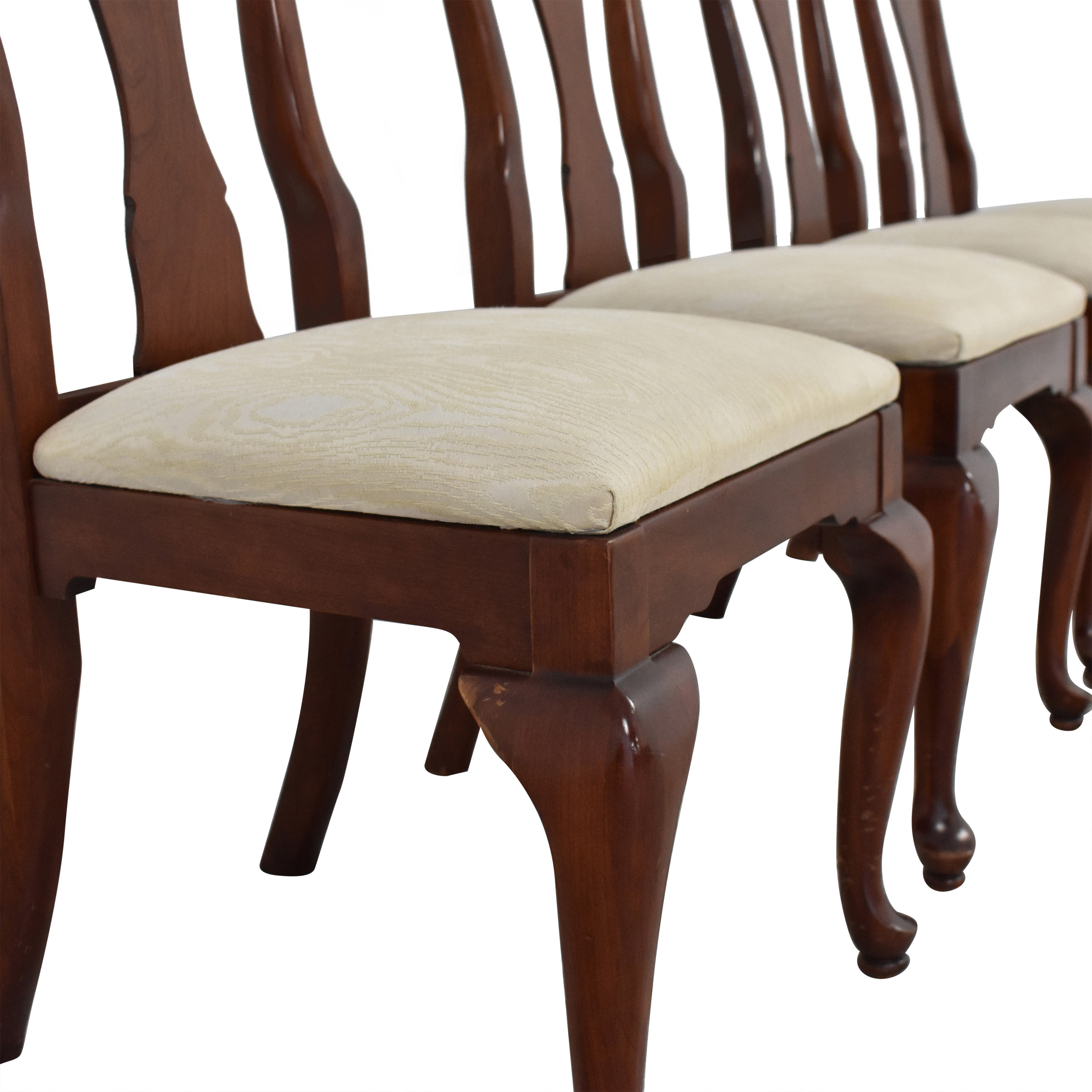 Knob Creek Knob Creek Penn Manor Dining Room Chairs white and brown