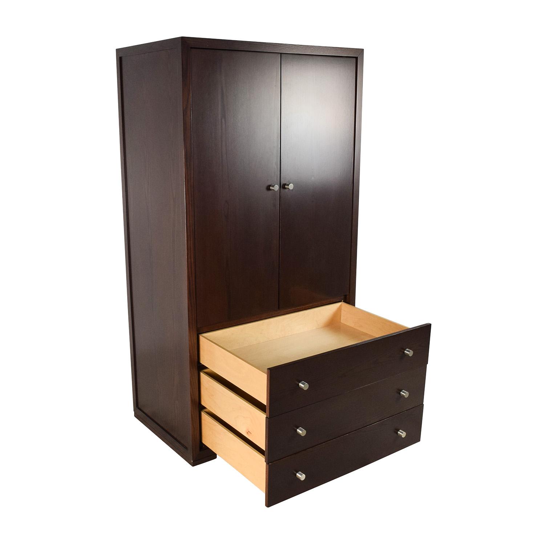 90% OFF - Custom Solid Wood Armoire Dresser / Storage