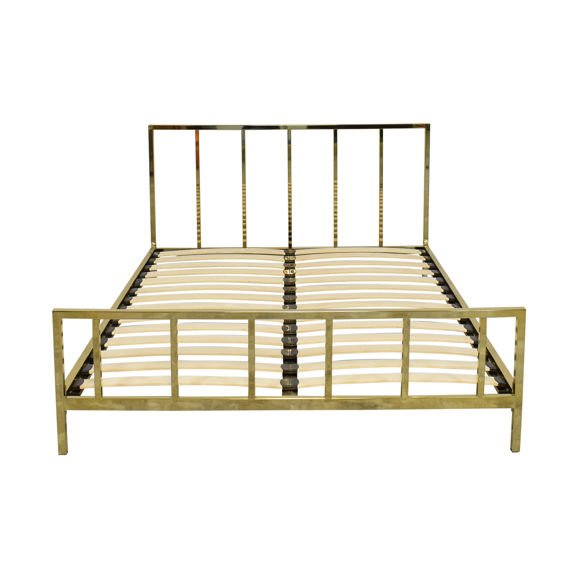 CB2 CB2 Alchemy Bronze Full Bed on sale