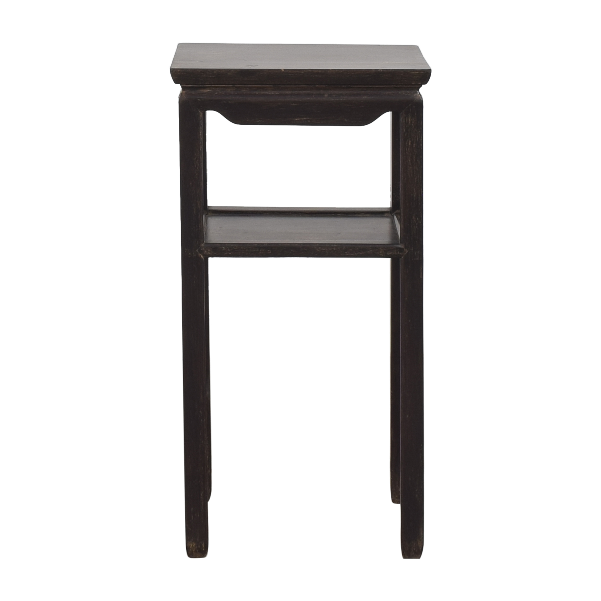 Vintage Side Table with Shelf sale