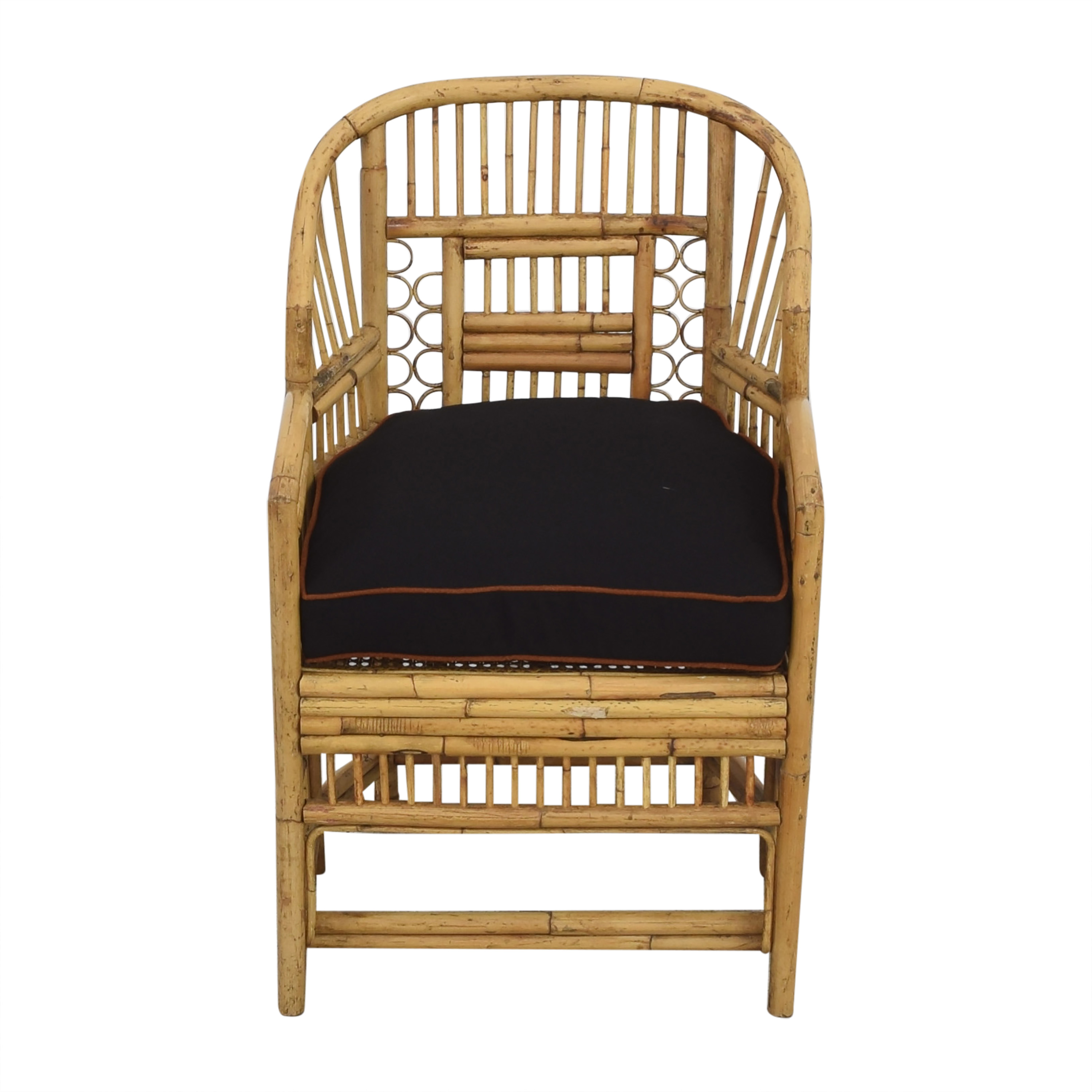 buy Brighton Pavilion Style Bamboo Armchair  Accent Chairs