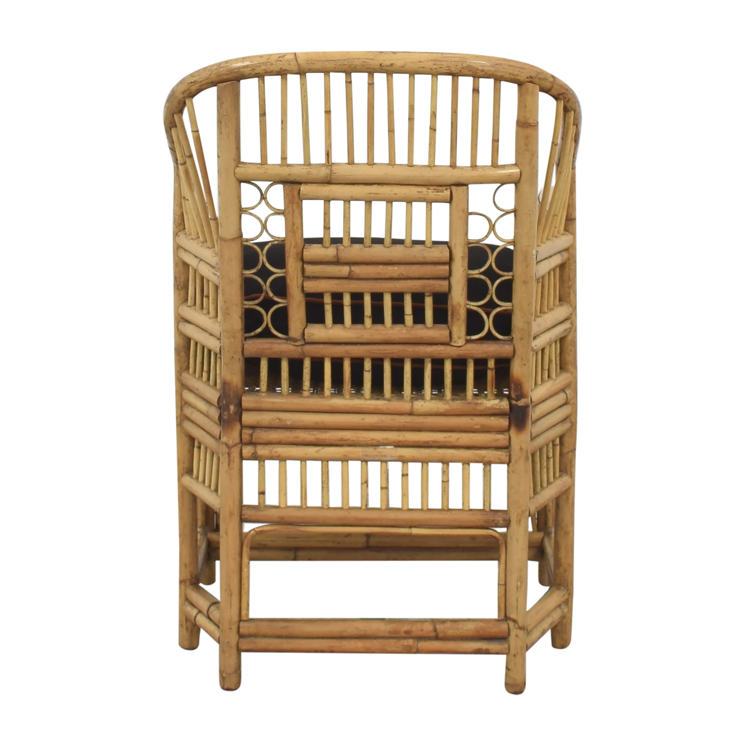 buy Brighton Pavilion Style Bamboo Armchair