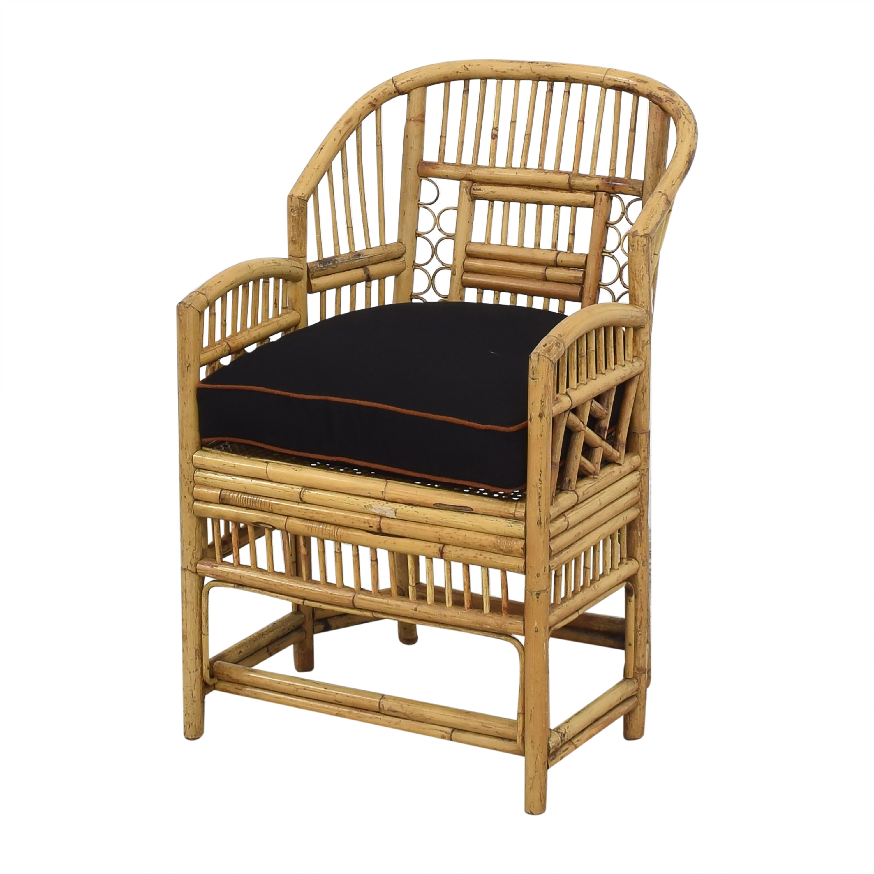Brighton Pavilion Style Bamboo Armchair / Chairs